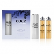 Woda toaletowa LOTUS Code Woman 3x20ml