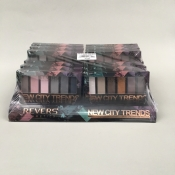 REVERS cienie do powiek NEW CITY TRENDS/PROFESSIONAL EYESHADOW PALETTE